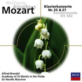 Alfred Brendel, W.A. Mozart: Klavierkonzerte 25,27, 00028948049417