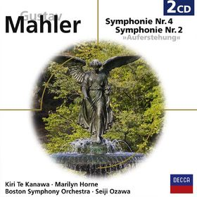 eloquence, Gustav Mahler: Sinfonien 2 & 4, 00028948049462