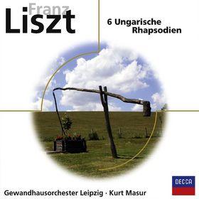 Kurt Masur, Franz Liszt: Ungarische Rhapsodien 1-6, 00028948049868