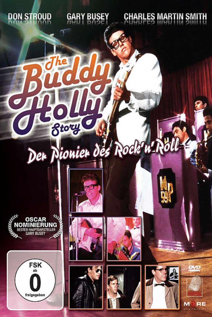 The Buddy Holly Story - Der Pionier d. Rock'n'Roll: Busey, Gary / Stroud, Don / Smith, Charles