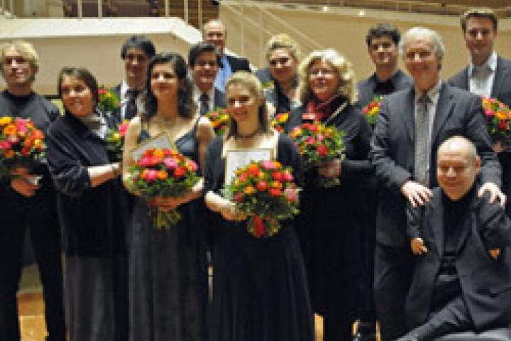 """Die Preisträger des Wettbewerbs """"Das Lied 2011"""" © P.S. Music"""