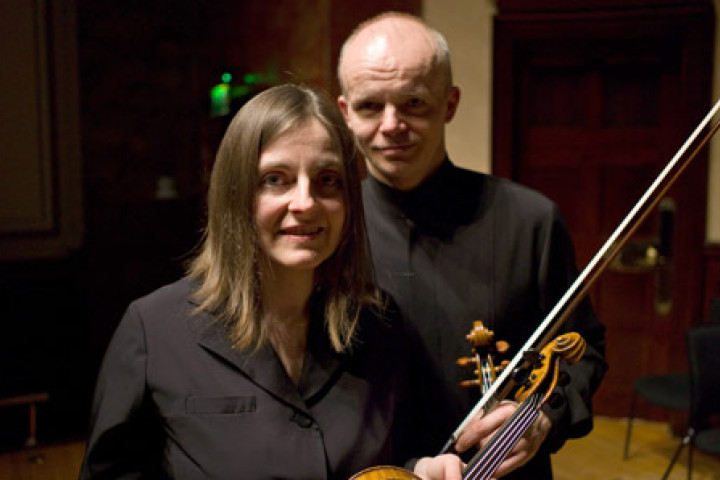 Ruth Killius, Thomas Zehetmair © Christopher Tribble / ECM Records