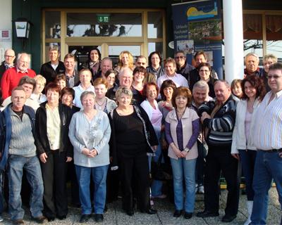 Nockalm Quintett, Fancluleitersitzung in Gmunden