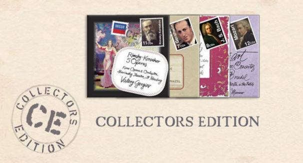 Collectors Edition, Sammlerwert - Neue Folgen für die Collector's Edition von Deutsche Grammophon und Decca