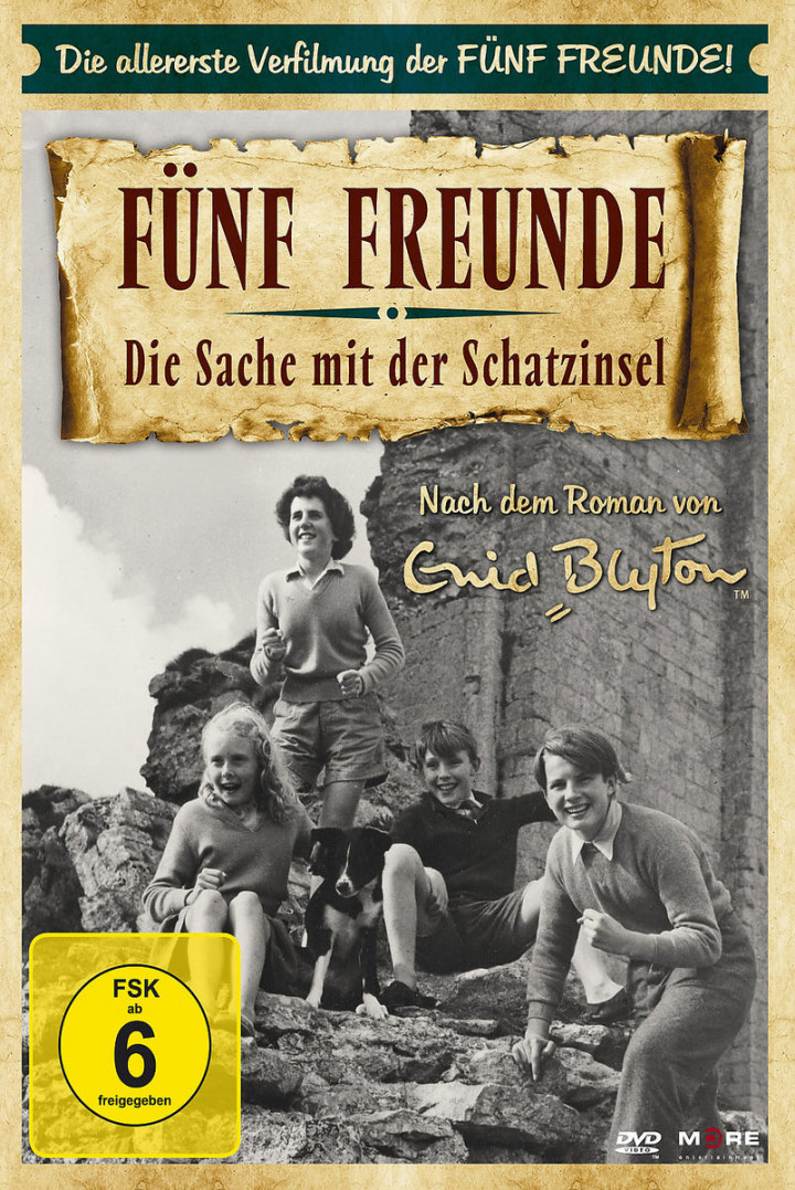 Fünf Freunde - Die Sache mit der Schatzinsel: Blyton, Enid
