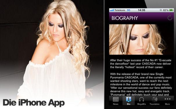 Cascada, Kostenlose iPhone App erhältlich!