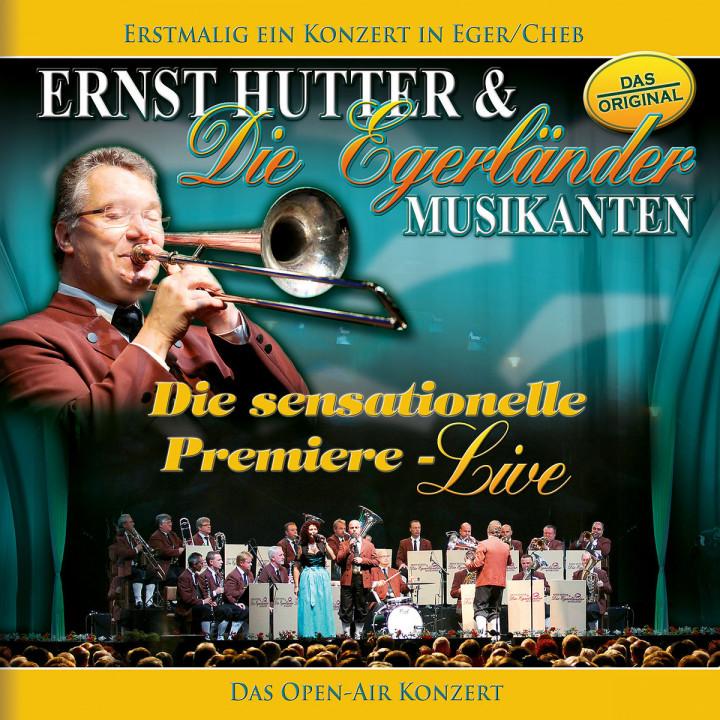 Ernst Hutter / Die sensationelle Premiere - Live / Erstmalig ein Konzert in Eger/Cheb - Das OPEN-AI