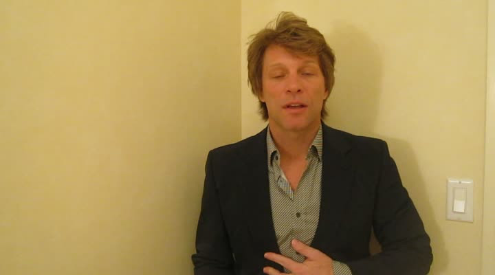 Jon Bon Jovi - Message für Japan