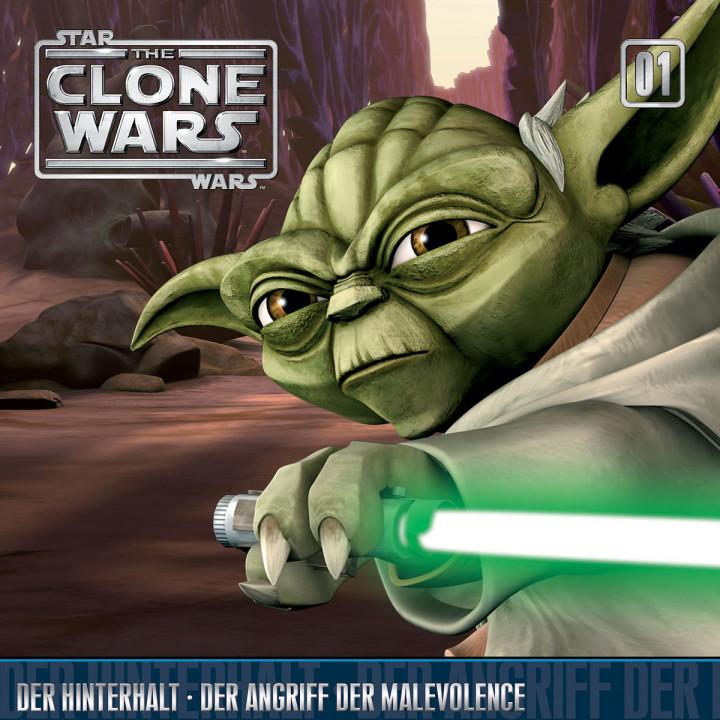 01: Der Hinterhalt / Der Angriff der Malevolence: The Clone Wars
