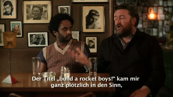 "Trailer zum Album ""build a rocket boys!"""