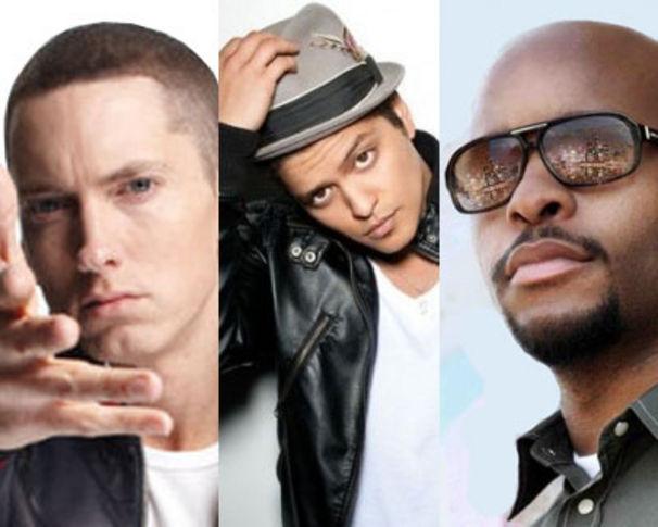 Eminem, Eminem: Bad Meets Evil EP mit Bruno Mars
