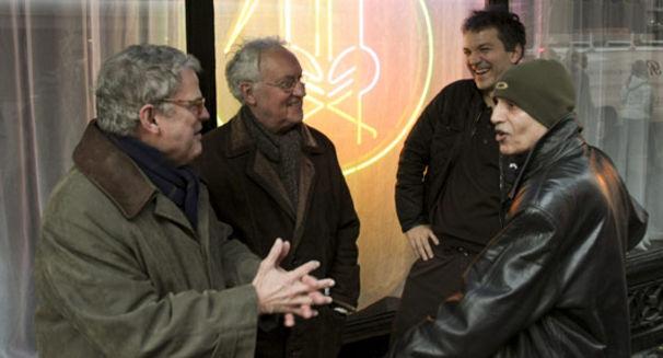 Lee Konitz, Vier Asse trumpfen auf - Live At Birdland von Lee Konitz, Paul Motian, Charlie Haden und Brad Mehldau