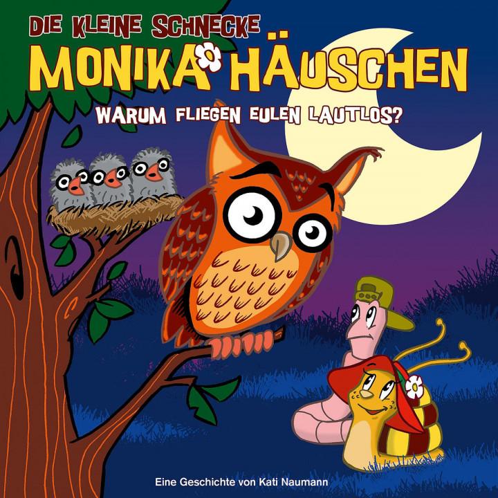 19: Warum fliegen Eulen lautlos?: Die kleine Schnecke Monika Häuschen