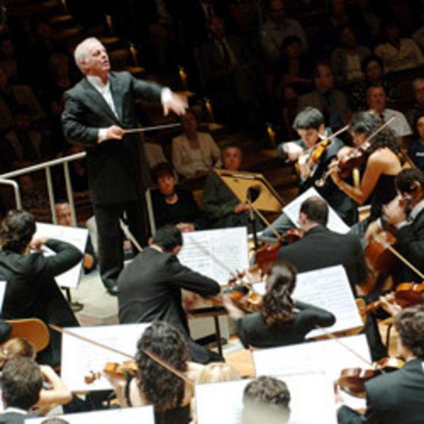 Daniel Barenboim, Das West-Eastern Divan Orchestra auf der Waldbühne