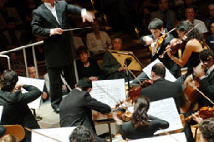 Das West-Eastern Divan Orchestra unter Leitung von Daniel Barenboim