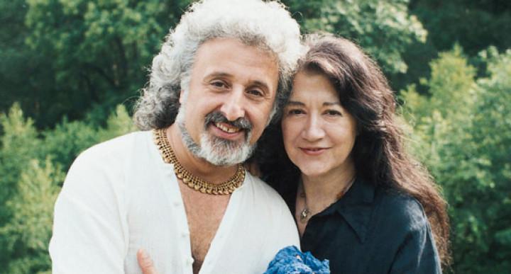 Martha Argerich und Mischa Maisky © Stefanie Argerich / DG