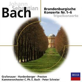 eloquence, J.S. Bach: Brandenburgische Konzerten 1-4, 00028948049516