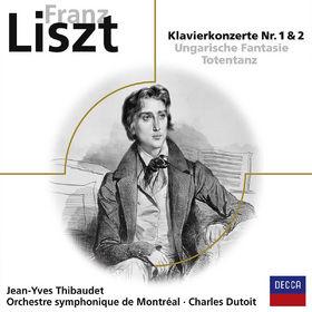 Jean-Yves Thibaudet, Franz Liszt: Klavierkonzert 1, 2 u.a. (Elo), 00028948049967
