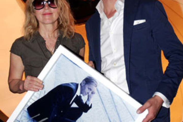Max Raabe und Annette Humpe in der Bar Tausend, Mai 2011 © XXAMAXX