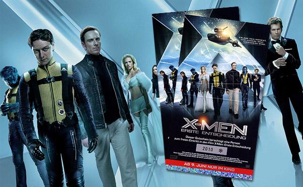 Take That, Gewinne jetzt Kinotickets für X-Men: Erste Entscheidung