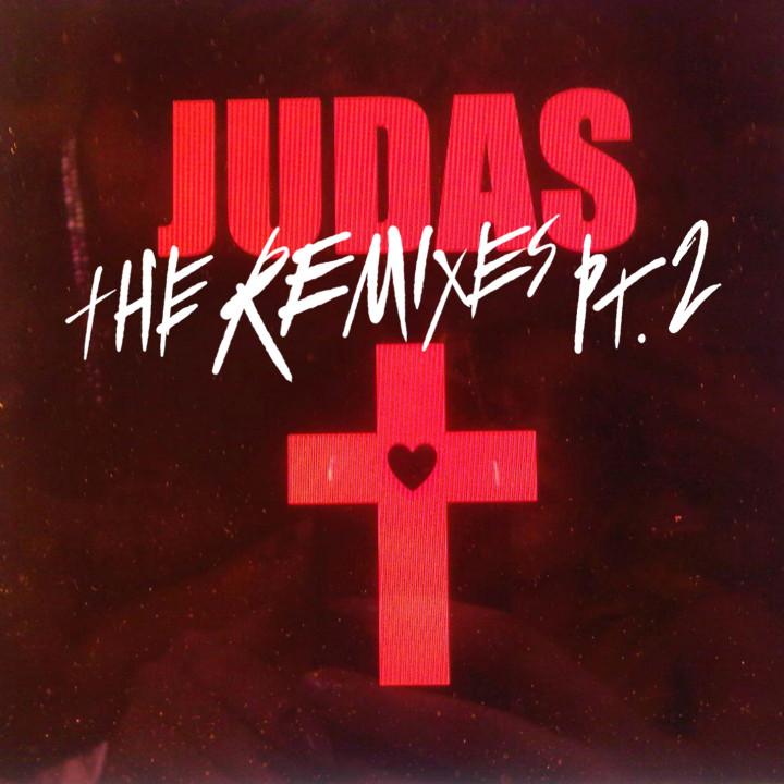 Judas. The Remixes Pt. 2 Single Cover 2011