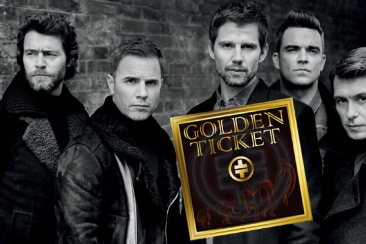 Take That Golden Ticket