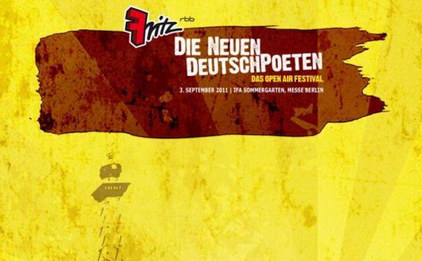 Andreas Bourani, Die Neuen DeutschPoeten - Festival-Lineup