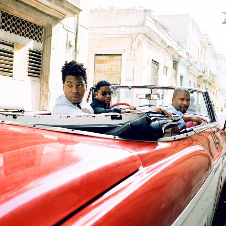 Stefon Harris, David Sánchez & Christian Scott ©Devin De Haven