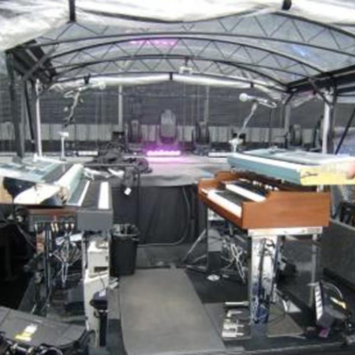 Bon Jovi Tour: Davids Arbeitsplatz