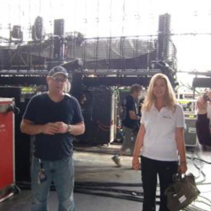 Bon Jovi Tour: Mike beginnt mit der Führung