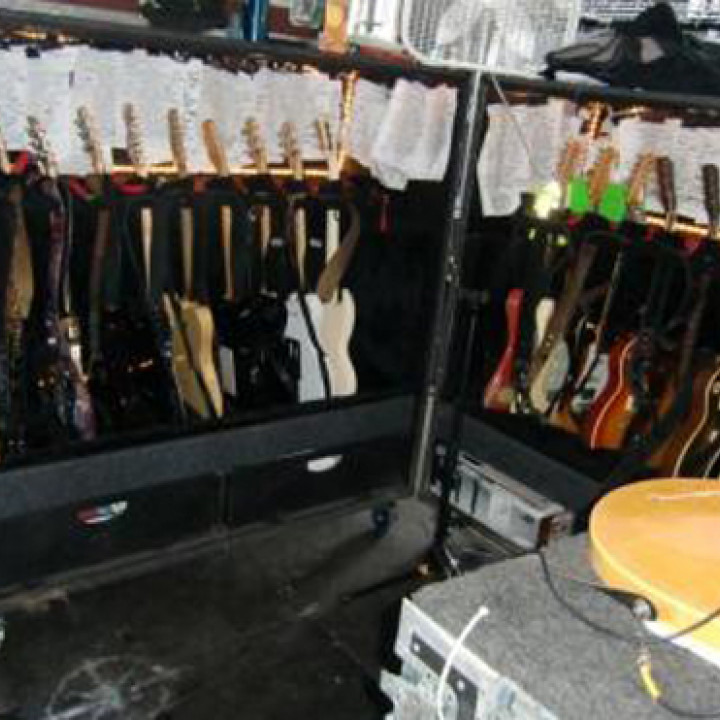 Bon Jovi Tour: Richies Gitarren