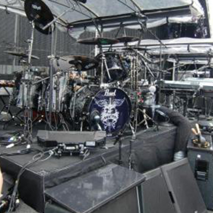 Bon Jovi Tour: Ticos Drums_2