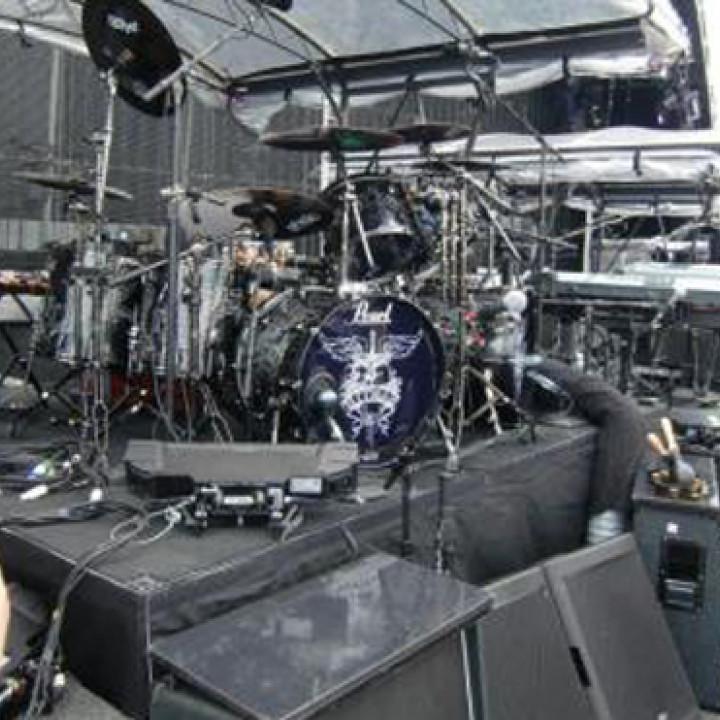 Bon Jovi Tour: Ticos Drums_2