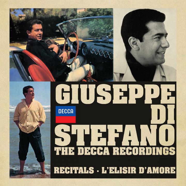 The Decca Recordings - Sämtliche Decca-Aufnahmen: Di Stefano,Giuseppe