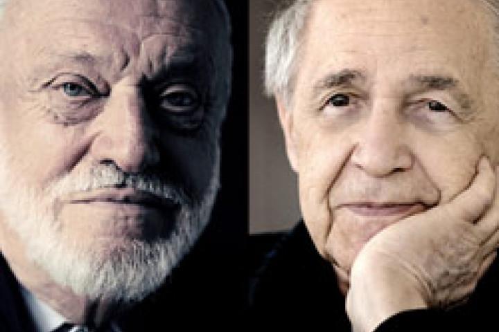 Kurt Masur / Pierre Boulez © Harald Hoffmann / DG