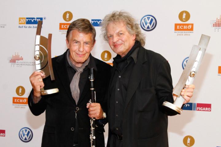 Rolf und Joachim Kühn beim ECHO Jazz 2011 © Markus Nass