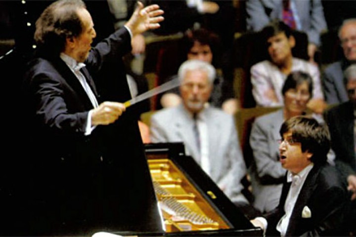 Riccardo Chailly & Ramin Bahrami © Ugo Della Porta / UMG