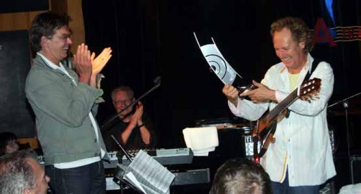 Christian Kellersmann, MD Universal Classics & Jazz, Dave Grusin, Lee Ritenour 2011