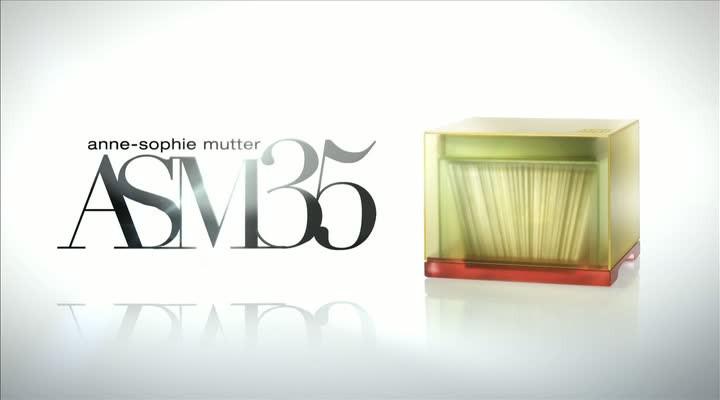 """Animation der Anne-Sophie Mutter Jubiläums-Box ASM35 """"The Complete Musician"""""""