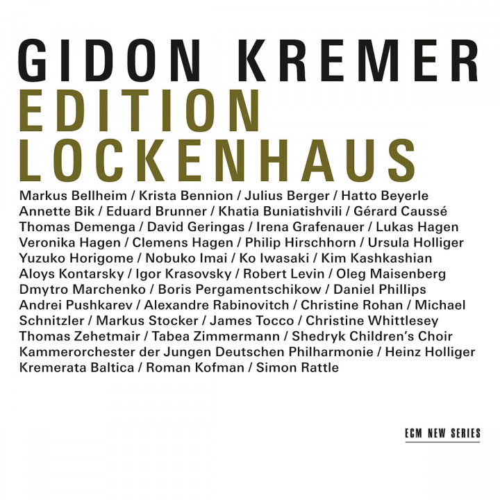 Edition Lockenhaus: Kremer,Gidon