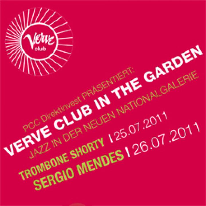Verve Club in the garden