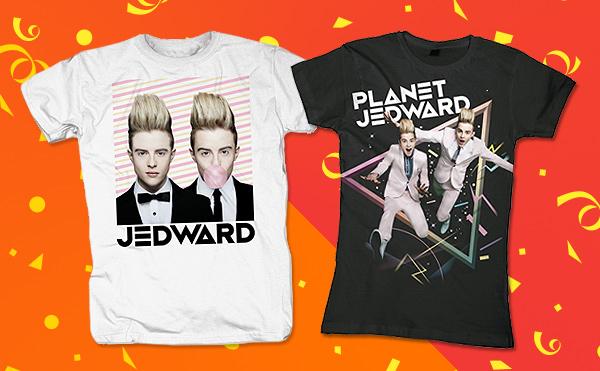 Jedward, Hol dir coole Jedward-Shirts bei Bravado.de!