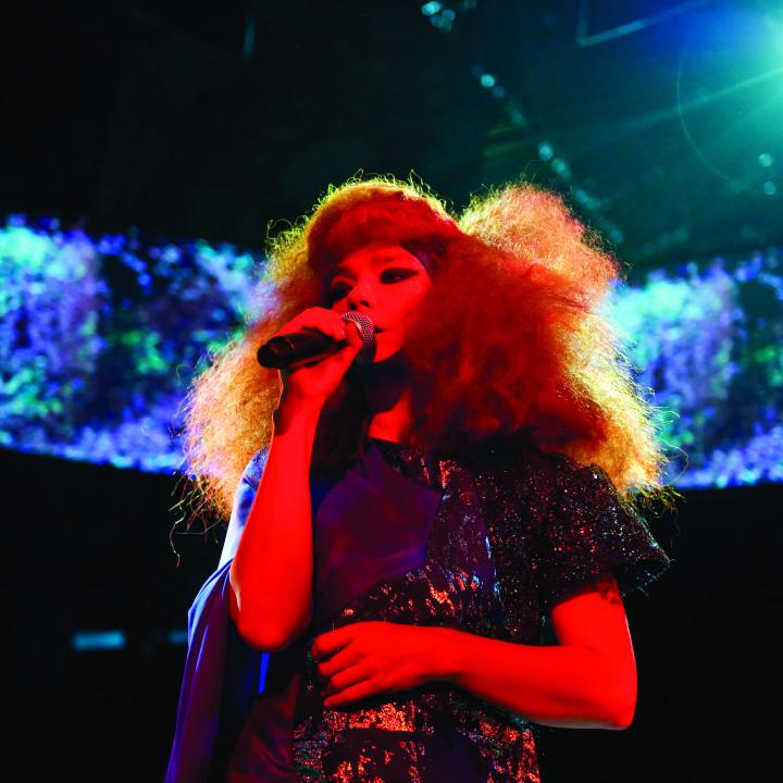 Björk Pressefoto 4/2011