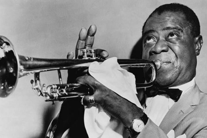 Louis Armstrong c Library of Congress Prints and Photographs Division, New York