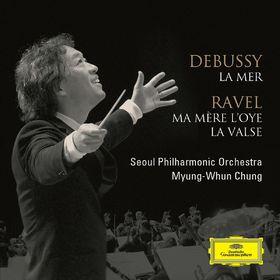 Debussy: La Mer / Ravel: Ma Mere l'Oye, La Valse, 00028947644989