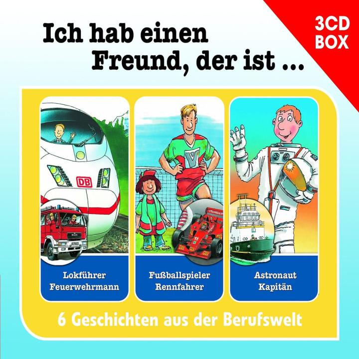 Berufeserie - 3-CD Hörspielbox Vol. 1: Berufeserie
