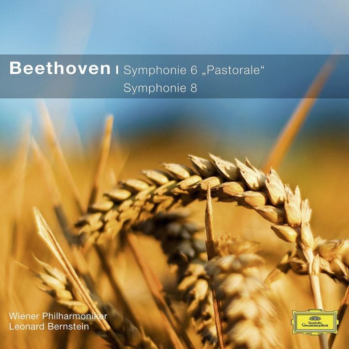 Sinfonien 6,8 (CC): Bernstein/WP