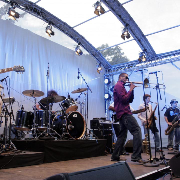 Trombone Shorty Live at Verve Club in the garden 2011 03 c Max Schröder