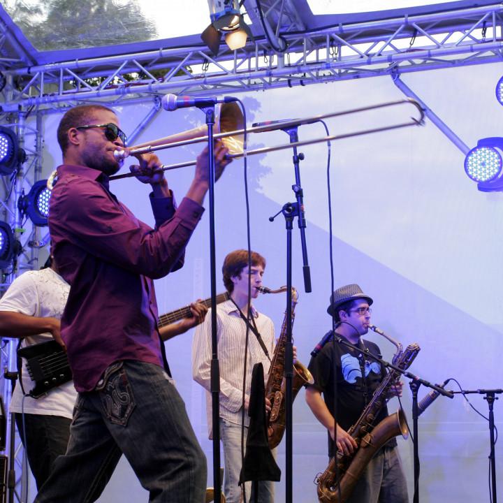 Trombone Shorty Live at Verve Club in the garden 2011 04 c Max Schröder