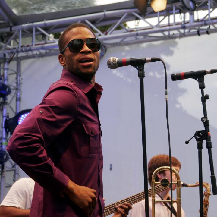 Trombone Shorty Live at Verve Club in the garden 2011 05 c Max Schröder
